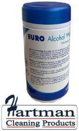 470215 - Euro Alcohol Wipes 6x150 wipes