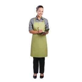 B190 - Chef Works halterschort limoen