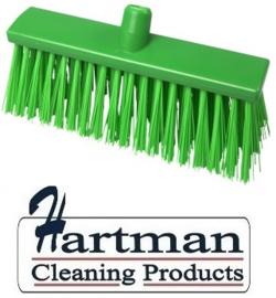 22310132-5 - FBK Hoogwaardige kleurcode HACCP Polyester hygiënische kunststof harde bezem 300 x 60 mm groen 23190