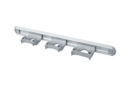 711102105-11 - Wand railophangsysteem kleurcode HACCP aluminium 500 mm 3 x klem grijs 15155
