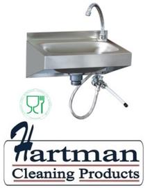 ST5LM-ECO - Handwasbak wandmodel mm (BxDxH) : 400x320