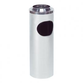 553005 - Papierbak/asbak diam. 200 mm RVS