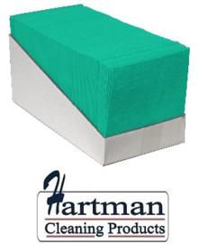 P42009 - Sopdoek groen 140 gr/m2, a kwaliteit pluisarme doek Doos a 65 doeken