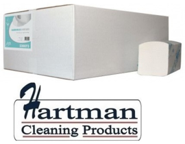 220073 - Interfold handdoekpapier 3-laags verlijmd 100% cellulose 20 x 125 st p/ds