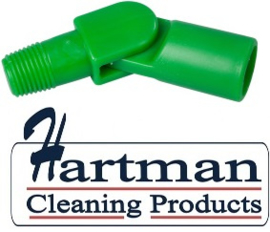 80027200-5 - FBK Hoogwaardige kleurcode HACCP hygiënische zwenkkoppeling universeel groen 27200