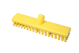 742161001-4 - FBK Hoogwaardige polyester schrobber 300 x 60 mm hard waterdoorlatend geel 24153