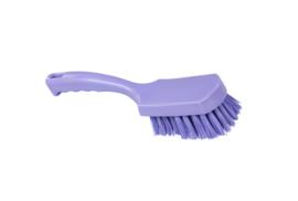 31430112-8 - FBK Handborstel kleurcode HACCP hoogwaardig harde vezel, 275 x 70 mm paars 10548