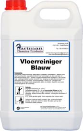 15200 - Vloerreiniger Blauw is een laagschuimend reinigingsmiddel voor de dagelijkse en periodieke reiniging van vrijwel alle vloeren 2 x 5 LITER