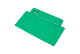 424141012 - Spatel polypropyleen kleurcode HACCP Metal + X-Ray dedecteerbaar 200 mm x 125 mm groen