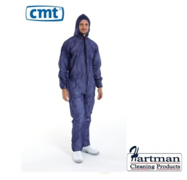 814408 - CMT pp non woven coverall, blauw, Medium regular weight