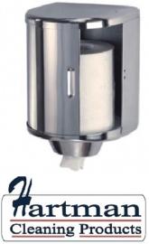 13661 - Poetsroldispenser voor midi handdoekrol hoogglans, DT0303C