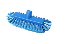 220161012-2 - Inwasborstel waterdoorlatend FBK hoogwaardige kleurcode HACCP FBK hygiënische polyester 290 x 130 mm gespleten vezel zacht blauw 20105