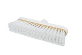 718151003-1 - Polyester FBK bezem vezels in hars gegoten kleurcode HACCP 280 mm x 48 mm zacht wit 93147