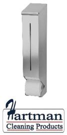 S3400757 - Sanfer RVS toiletreserverol disp.tbv 4-6 traditionele toiletrollen