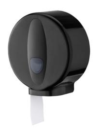 3320 -Jumboroldispenser mini kunststof zwart