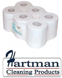 P53530 - Midi rol 1-laags cellulose  Euro ECO 300 mtr x 20 cm - 6 rol p/pak