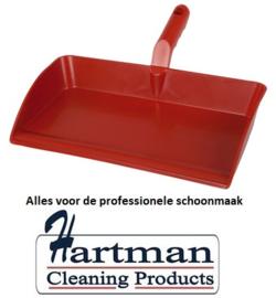 914141018-3 - FBK Hoogwaardige stofblik polypropyleen 300 x 310 mm metaal detecteerbaar rood 70301
