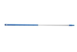 93260104-2 - FBK Ergonimic handvat aluminium steel 1750 x 32 mm kleurcode HACCP blauw 29815