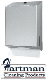 438190 - Handdoekdispenser maxi, RVS EURO Products