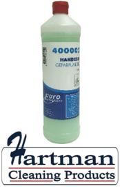400002 - Euro handzeep de luxe, groen navulbaar 12 x 1 liter