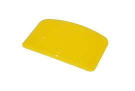 61980116 - Hoogwaardige kleurcode HACCP hygiënische deegschraper 146 x 98 mm geel