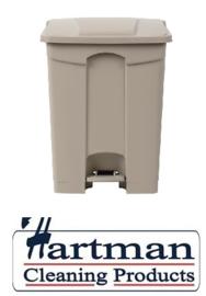 GH638 -Jantex beige pedaalemmer 65 liter