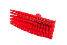 807151006-3 - Polyester FBK wasborstel vezels in hars gegoten kleurcode HACCP 280 mm x 48 mm rood 93155