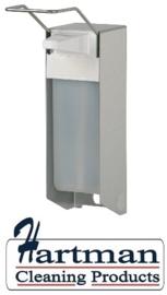 i1005100 - Ingo-man aluminium zeepdispenser met lange beugel 1 Liter