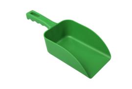21190102-5 - Handschep hoogwaardige kleurcode HACCP hygiënische polypropyleen handschep 110 x 150 x 265 mm,groen 15105