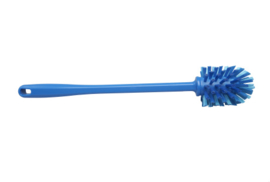 90030145-2 - FBK Wormhuisborstel hoogwaardige kleurcode HACCP hygiënische polyester ø 63 x 400 mm, blauw 57156