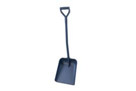 400141026-2 -Schop detecteerbare FBK hoogwaardige kleurcode hygiënische polypropyleen 330 x 380 x 1120 mm blauw 74104