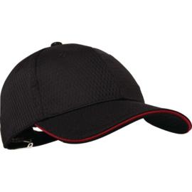 A945 - Cool Vent baseball cap rood