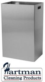 S3400225 - Sanfer afvalbak 50 liter met open inworp Euro Products