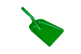 20090101-5 - Handschep hoogwaardige kleurcode HACCP hygiënische polypropyleen handschep 270 x 320 x 540  groen 80305