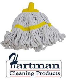 910222 - SYR  mop, Maxi wit garen, 60 cm diameter, geel
