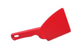 38180120-3 - FBK Spatel hoogwaardige kleurcode ergonomische 100 x 250 mm polypropyleen rood 82900
