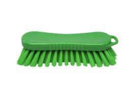 21030125-5 - FBK Polyester werkborstel kleurcode HACCP 210 mm x 70 mm harde vezel groen 10563