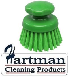 24430131-5 - FBK Ronde handborstel Polyester kleurcode HACCP ø 125 mm harde vezel  groen 54154