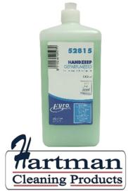 P52815 - Euro handzeep, compatible Santral/Ingo-man geparfumeerd, 6 x 1 liter