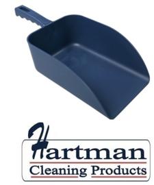 913141018-2 - FBK Hoogwaardige handschep polypropyleen 1000 gram 160 x 230 x 260 mm metaal detecteerbaar blauw 75107