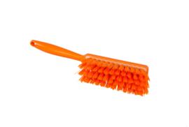 100151009-7 - Polyester handveger vezels in hars gegoten kleurcode HACCP 340 mm x 35 mm medium oranje 90252