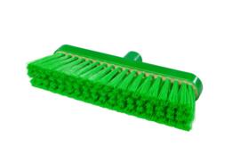 718151003-5 - Polyester FBK bezem vezels in hars gegoten kleurcode HACCP 280 mm x 48 mm zacht groen 93147