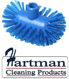 50520108-2 - Hoogwaardige FBK kleurcode HACCP hygiënische polyester medium tankborstel 200 x 120 mm blauw 37134