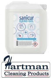 417335 - Desinfecterende Sanicur Alcohol handgel desinfectie 5 Liter