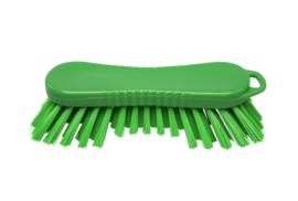 22030126-5 - FBK Polyester werkborstel kleurcode HACCP 210 mm x 70 mm harde vezel groen 10565