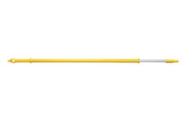 """60229828-4 - FBK Telescoopsteel aluminium waterdoorlaat 1250/2000 mm ø 32 mm 1/2"""" koppeling geel 29828"""