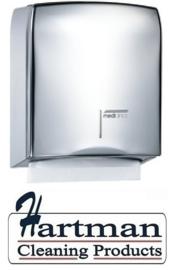 12821 - Handdoekdispenser hoogglans, DT0106C Mediclinics