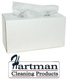 353762 - M-Wipe grijze doek in Euro box met 260 vellen. Afmeting vel 42 x 35 cm EURO products