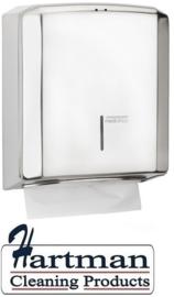 12921 - Handdoekdispenser hoogglans, DT2106C Mediclinics