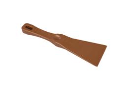 38180105-12 - FBK Spatel hoogwaardige kleurcode 75 x 250 mm polypropyleen bruin 82904